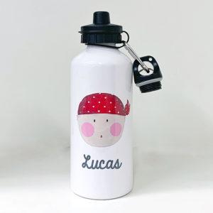 Botella Pirata Rojo