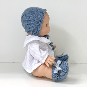 Muñeca Pepita Pique Azul
