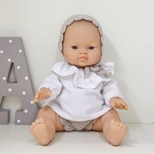 Muñeca Pepita Pique Beige